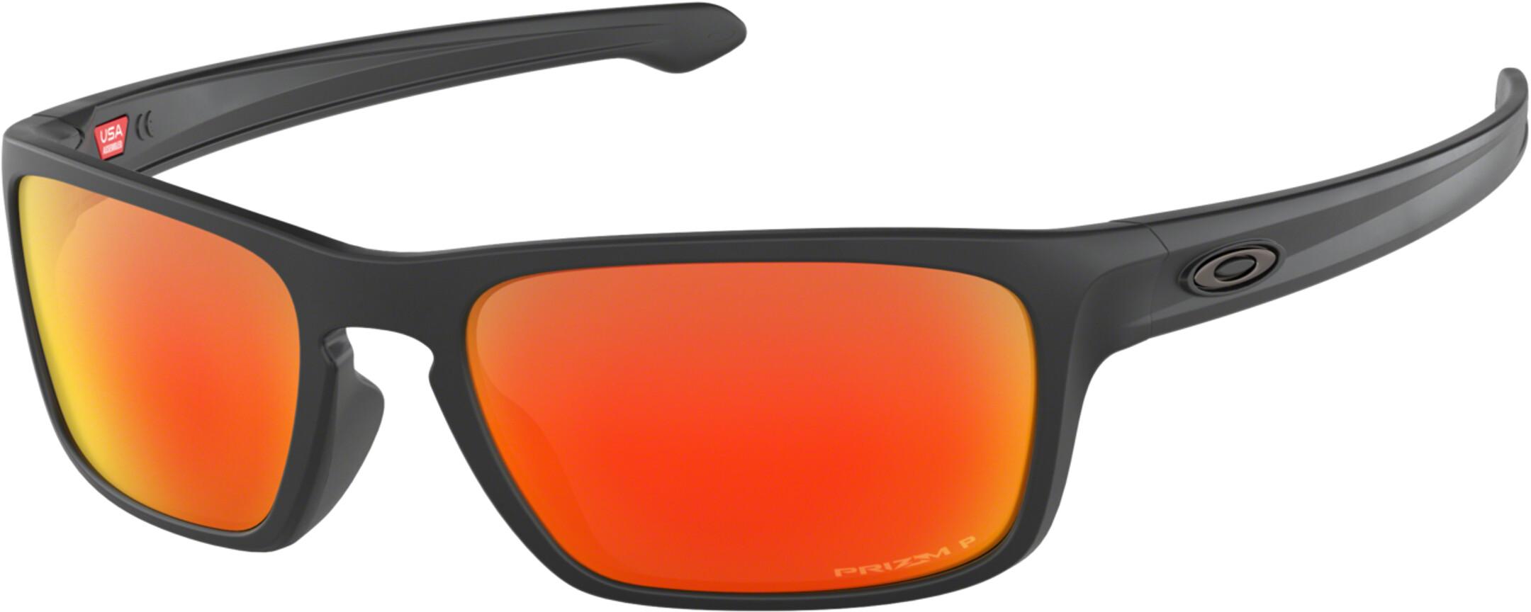 Oakley Sliver Stealth - Lunettes cyclisme - orange noir - Boutique ... 4b6eb1b16045